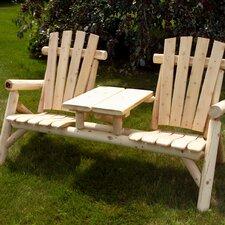 White Cedar Tete-a-Tete Seating Group