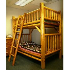 Nicholas Twin over Twin Bunk Bed with Ladder
