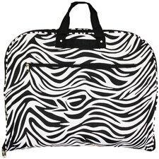 Zebra Hanging Garment Bag