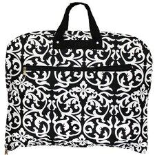 Damask Hanging Garment Bag
