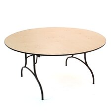"Madera 61"" Round Folding Table"