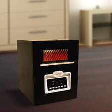 5,120 BTU Portable Electric Infrared Cabinet Heater with Remote Control