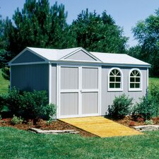 Premier Series 10 Ft. W x 16 Ft. D Wood Storage Shed