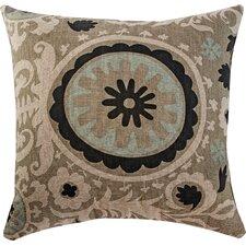 Suzani Stone Accent Throw Pillow