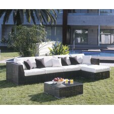 Soho 6 Piece Deep Seating Group with Cushions