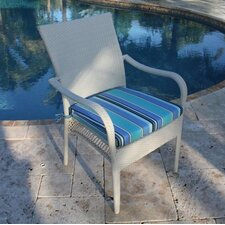 Grenada Patio Dining Arm Chair with Cushion