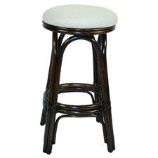 "Carmen 24"" Swivel Bar Stool with Cushion"
