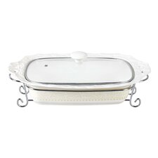 Fifteen 2.75-qt Porcelain Rectangular Casserole with Lid