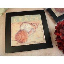 Beach Design Ceramic Trivet