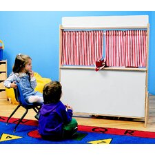 Play Store and Puppet Theater with Dry-Erase Panels