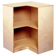 """30.63"""" Durable Inside Corner Bookshelf"""