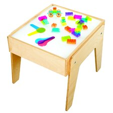 Square Mini Light Art and Crafts Table