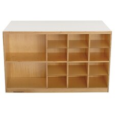 Double Sided Durable Mobile Storage Peninsula