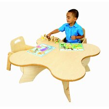 "36"" Adjustable Toddler Blossom Classroom Table"