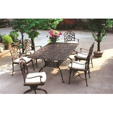 Catalina 7 Piece Dining Set with Cushions