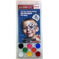 Eye Designs for Boys Water Based Paint