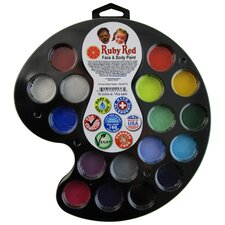 16 Color Artist's Palette