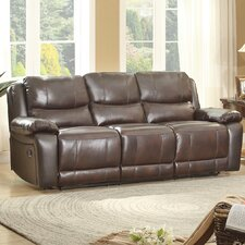Allenwood Leather Double Reclining Sofa