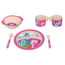 My Little Pony 5 Piece Dinnerware Set