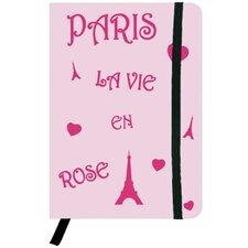 La Vie en Rose Hard Cover Journal
