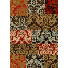 Kings Court Patty Patchwork Transitional Rug