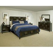 Ribbons Panel Customizable Bedroom Set