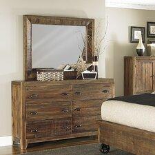 River Ridge 6 Drawer Dresser with Mirror