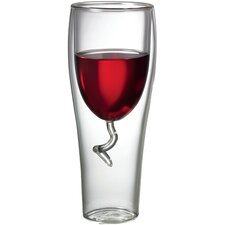 Double-Wall Wine Glass
