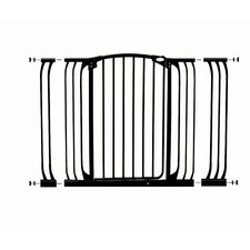 Extra-Tall Auto Close Hallway Security Gate with Extensions