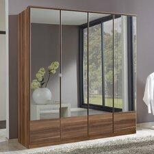 Jugan Mirrored 4 Door Wardrobe