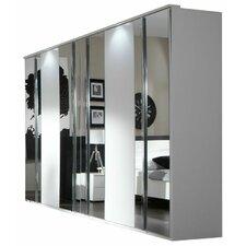 Levat Mirrored 6 Door Wardrobe
