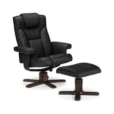 Lindo Swivel Recliner and Footstool
