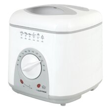 Compact Deep Fryer in White