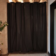 """Fabric Room Divider Curtain, 96"""" Tall x 120"""" Wide Panel"""