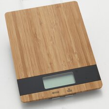 Slim Bamboo Digital Kitchen Scale