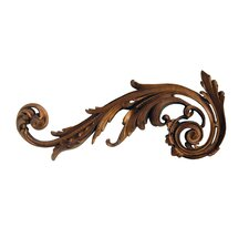 Left Embellished Scroll Wall Décor