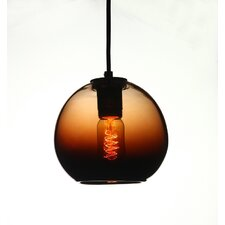 Vintage 1 Light Globe Pendant