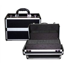 Beauty Case with 3 Divided Sliding Trays & 6 Bottom Compartments