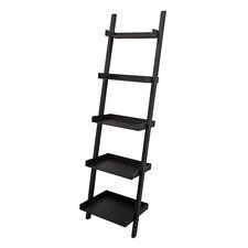 "Hadfield 67"" Leaning Bookcase"