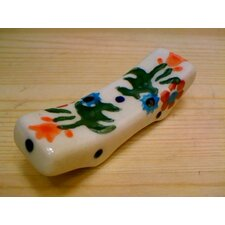 "Polish Pottery 2.5"" Spoon Rest"