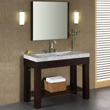 "Indus 36"" Single Vanity Set with Mirror"