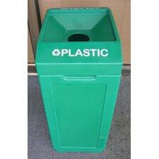 39-Gal Open Top Recycling Bin