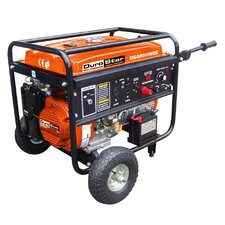 Portable 210 amp Welding 4,000 Watt Gasoline Generator with Electric/Recoil Start