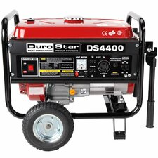 7.0 HP Air Cooled OHV 4,400 Watt Gasoline Generator with Wheel Kit
