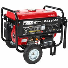 7.0 HP Air Cooled OHV 4,400 Watt Gasoline Generator with Electric Start and Wheel Kit