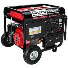 16.0 Hp 10,000 Watt Gasoline Generator with Electric Start and Wheel Kit