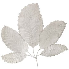 Urban Metallic Decorative Stainless Steel Leaf Art Wall Decor