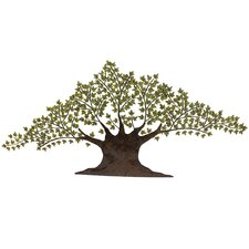 "Urban Tree of Harmony Large 92"" Metal Art Wall Decor"