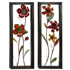 Urban Designs Floral Bloom Pop Out Wall Décor