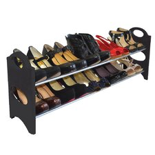 10 Pair Shoe Rack